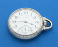 Timepieces:Pocket (post 1900), Waltham 21 Jewel Pocket Watch. ...