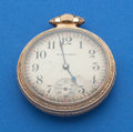 Timepieces:Pocket (post 1900), South Bend Studebaker 21 Jewel Pocket Watch. ...