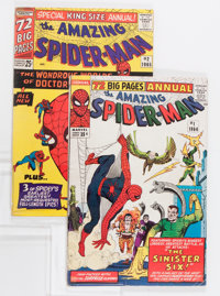 The Amazing Spider-Man Annual #1 and 2 Group (Marvel, 1964-65) Condition: Average FN-.... (Total: 2 Comic Books)