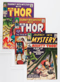 Silver Age (1956-1969):Superhero, Journey Into Mystery Group (Marvel, 1963-66) Condition: Average FN+.... (Total: 4 Comic Books)