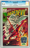 Silver Age (1956-1969):Superhero, Daredevil #56 Twin Cities pedigree (Marvel, 1969) CGC NM+ 9.6 White pages....