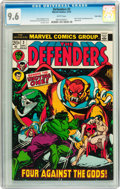 Bronze Age (1970-1979):Superhero, The Defenders #3 Twin Cities pedigree (Marvel, 1972) CGC NM+ 9.6 White pages....