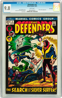 The Defenders #2 Twin Cities pedigree (Marvel, 1972) CGC NM/MT 9.8 White pages