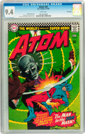 Silver Age (1956-1969):Superhero, The Atom #25 Twin Cities pedigree (DC, 1966) CGC NM 9.4 White pages....