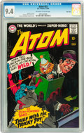 Silver Age (1956-1969):Superhero, The Atom #23 Twin Cities pedigree (DC, 1966) CGC NM 9.4 Off-white to white pages....