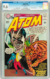 The Atom #21 Twin Cities pedigree (DC, 1965) CGC NM+ 9.6 White pages