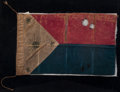 Military & Patriotic:Spanish American War, Rare Spanish-American First Philippine Republic War Flag, Captured September 17, 1899 by a Soldier in the 13th Regiment, 3rd B...