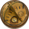 Timepieces:Other , Chinese Pocket Sundial. ...