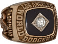 Baseball Collectibles:Others, 1981 Los Angeles Dodgers World Championship Ring....