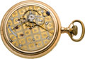 Timepieces:Pocket (pre 1900) , Hamilton Scarce 21 Jewel Two Tone Burlington Route Special, circa1898. ...