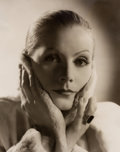 Photographs:20th Century, CLARENCE SINCLAIR BULL (American, 1895-1979). Greta Garbo(Three Photographs), circa 1931-35. Gelatin silver, circa 1981...(Total: 3 Items)