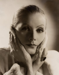 CLARENCE SINCLAIR BULL (American, 1895-1979) Greta Garbo (Three Photographs), circa 1931-35 Gelatin