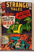 Silver Age (1956-1969):Superhero, Strange Tales #128-181 Bound Volumes (Marvel, 1964-68).... (Total: 2 Items)