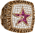 Baseball Collectibles:Others, 2005 Houston Astros National League Championship Ring....