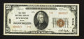 National Bank Notes:Maine, Lewiston, ME - $20 1929 Ty. 2 The First NB Ch. # 330. ...