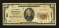 National Bank Notes:Kentucky, Somerset, KY - $20 1929 Ty. 1 The Farmers NB Ch. # 5881. ...