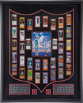 Football Collectibles:Tickets, 2001 Super Bowl Replica Tickets Display....