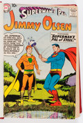 Silver Age (1956-1969):Superhero, Superman's Pal Jimmy Olsen/Superman Family Bound Volumes (DC, 1958-79).... (Total: 7 Items)