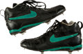 Baseball Collectibles:Others, 1993 Ken Griffey Jr. Game Worn, Signed Cleats....