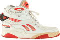 Basketball Collectibles:Others, Early 1990's Dominique Wilkens Game Worn, Signed Shoe....