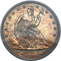 Proof Seated Half Dollars, 1873 50C Arrows PR63 PCGS....