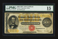 Large Size:Gold Certificates, Fr. 1217 $500 1922 Gold Certificate PMG Choice Fine 15.. ...