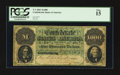Confederate Notes:1861 Issues, T1 $1000 1861 PF-1 Cr. 1.. ...