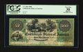 Confederate Notes:1861 Issues, T2 $500 1861 PF-1 Cr. 2.. ...