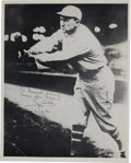 Autographs:Photos, 1961 Ty Cobb Signed Photograph....