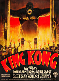 "King Kong (RKO, 1933). French Grande (47"" X 63"")"
