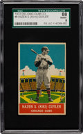 Baseball Cards:Singles (1930-1939), 1933 Delong Kiki Cuyler #8 SGC 88 NM/MT 8 - Pop One with None Higher! ...