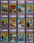 "Non-Sport Cards:Sets, 1961 Topps ""Crazy Cards"" Complete Set (66) - #2 on the PSA SetRegistry! ..."