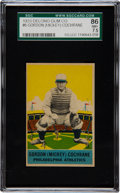 Baseball Cards:Singles (1930-1939), 1933 Delong Mickey Cochrane #6 SGC 86 NM+ 7.5 - Pop Two with NoneHigher! ...