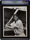 Baseball Collectibles:Photos, 1951 Willie Mays Rookie News Photograph....
