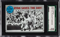 """Baseball Cards:Singles (1970-Now), 1970 Topps NLCS Game 3 """"Ryan Saves The Day!"""" #197 SGC 98 Gem 10 - Pop One Condition Rarity! ..."""