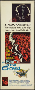 """Movie Posters:Drama, A Face in the Crowd (Warner Brothers, 1957). Insert (14"""" X 36""""). Drama.. ..."""