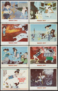 "Movie Posters:Animated, Magic Boy (MGM, 1960). Lobby Card Set of 8 (11"" X 14""). Animated..... (Total: 8 Items)"