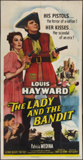 """Movie Posters:Adventure, The Lady and the Bandit (Columbia, 1951). Three Sheet (41"""" X 81""""). Adventure.. ..."""