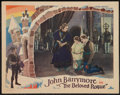 "Movie Posters:Adventure, Beloved Rogue (United Artists, 1927). Lobby Card (11"" X 14"").Adventure.. ..."