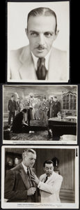 """Movie Posters:Mystery, Charlie Chan Lot (Fox, 1931-1935). Photos (3) (8"""" X 10""""). Mystery..... (Total: 3 Items)"""
