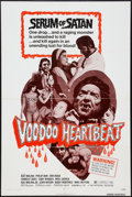 "Movie Posters:Horror, Voodoo Heartbeat (TWI National, 1972). One Sheet (27"" X 41""). Horror.. ..."