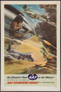 "Movie Posters:War, World War II Army Air Force Poster (U.S. Government PrintingOffice, 1940s). ""The Greatest Team in the World!"" Poster (25"" X..."