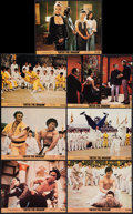"""Movie Posters:Action, Enter the Dragon (Warner Brothers, 1973). Mini Lobby Cards (7) (8""""X 10""""). Action.. ... (Total: 7 Items)"""