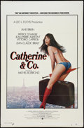 "Movie Posters:Sexploitation, Catherine & Co. (Warner Brothers, 1975). One Sheet (27"" X 41"").Flat Folded. Sexploitation.. ..."