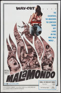 "Movie Posters:Documentary, Malamondo (Magna, 1964). One Sheet (27"" X 41""). Documentary.. ..."