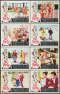 "Movie Posters:Comedy, Ski Party (American International, 1965). Lobby Card Set of 8 (11"" X 14""). Comedy.. ... (Total: 8 Items)"