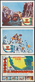 """Movie Posters:Fantasy, Jason and the Argonauts (Columbia, 1963). Title Lobby Card and Lobby Cards (2) (11"""" X 14""""). Fantasy.. ... (Total: 3 Items)"""