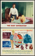 "Movie Posters:Exploitation, The Beat Generation (MGM, 1959). Title Lobby Card and Lobby Card(11"" X 14""). Exploitation.. ... (Total: 2 Items)"