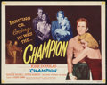 "Movie Posters:Sports, Champion (United Artists, 1949). Title Lobby Card (11"" X 14""). Sports.. ..."