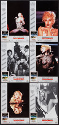 """Movie Posters:Rock and Roll, Truth or Dare (United International Pictures, 1991). Spanish LobbyCard Set of 12 (9.5"""" X 13.5""""). Rock and Roll.. ... (Total: 12Items)"""